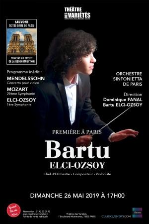 Bartu Elci-Ozsoy à Paris