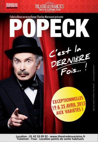 Popeck – C'est la dernière fois !