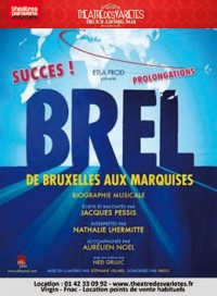 Brel, de Bruxelles aux Marquises