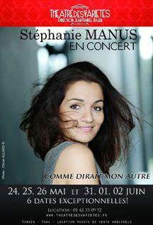 Stephanie Manus en concert